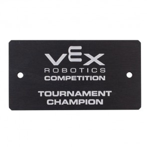 "VRC Award Plate ""Tournament Champion"""