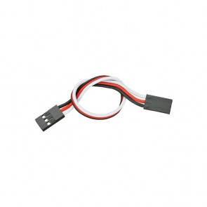 """Parallax 3-pin Signal-Power-Ground Cable Extensions (6"""")"""