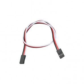 """Parallax 3-pin Signal-Power-Ground Cable Extensions (12"""")"""