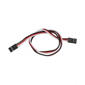 """Parallax 3-pin Signal-Power-Ground Cable Extensions (16"""")"""