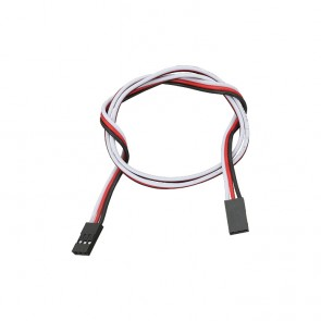 "Parallax 3-pin Signal-Power-Ground Cable Extensions (20"")"