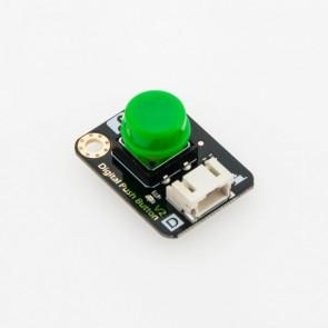 Digital Push Button - Green