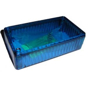 PICAXE Transparent Blue Case