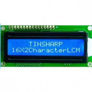 Basic 16x2 Character LCD - White on Blue 5V