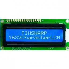 Basic 16x2 Character LCD - White on Blue 5V