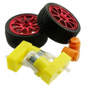 D65 wheel set - Red