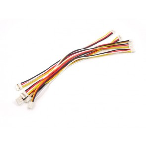 Grove - Universal 4 Pin 20cm Cable (5 Pack)