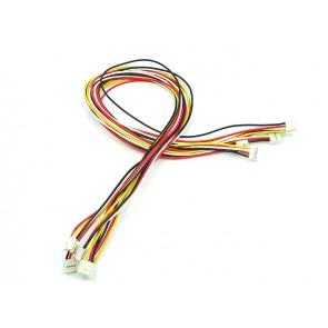 Grove - Universal 4 Pin 50cm Locking Cable (5 Pack)