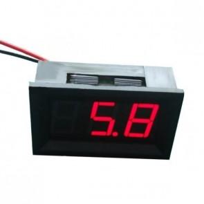 LED Voltage Meter (Red)