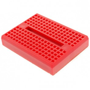 Mini Bread Board Self Adhesive - Red