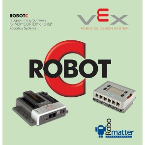 ROBOTC for VEX Robotics 4.x Classroom License (Cortex & VEX IQ) (30-seat)