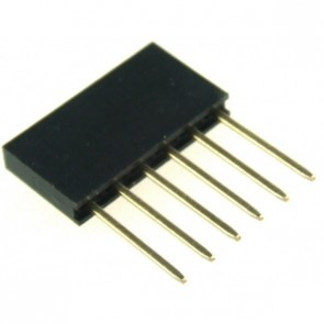 Stackable Header - 6 Pin