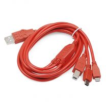 SparkFun Cerberus USB Cable - 6ft