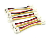 Grove - Universal 4 Pin 5cm Locking Cable (5 Pack)
