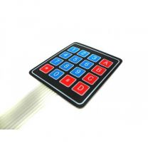 Sealed Membrane 4*4 button pad with sticker