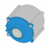 VEX V5 Motor 6:1 Cartridge (600 RPM)