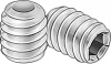 8-32 Stainless Steel Set Screw (100-pack)